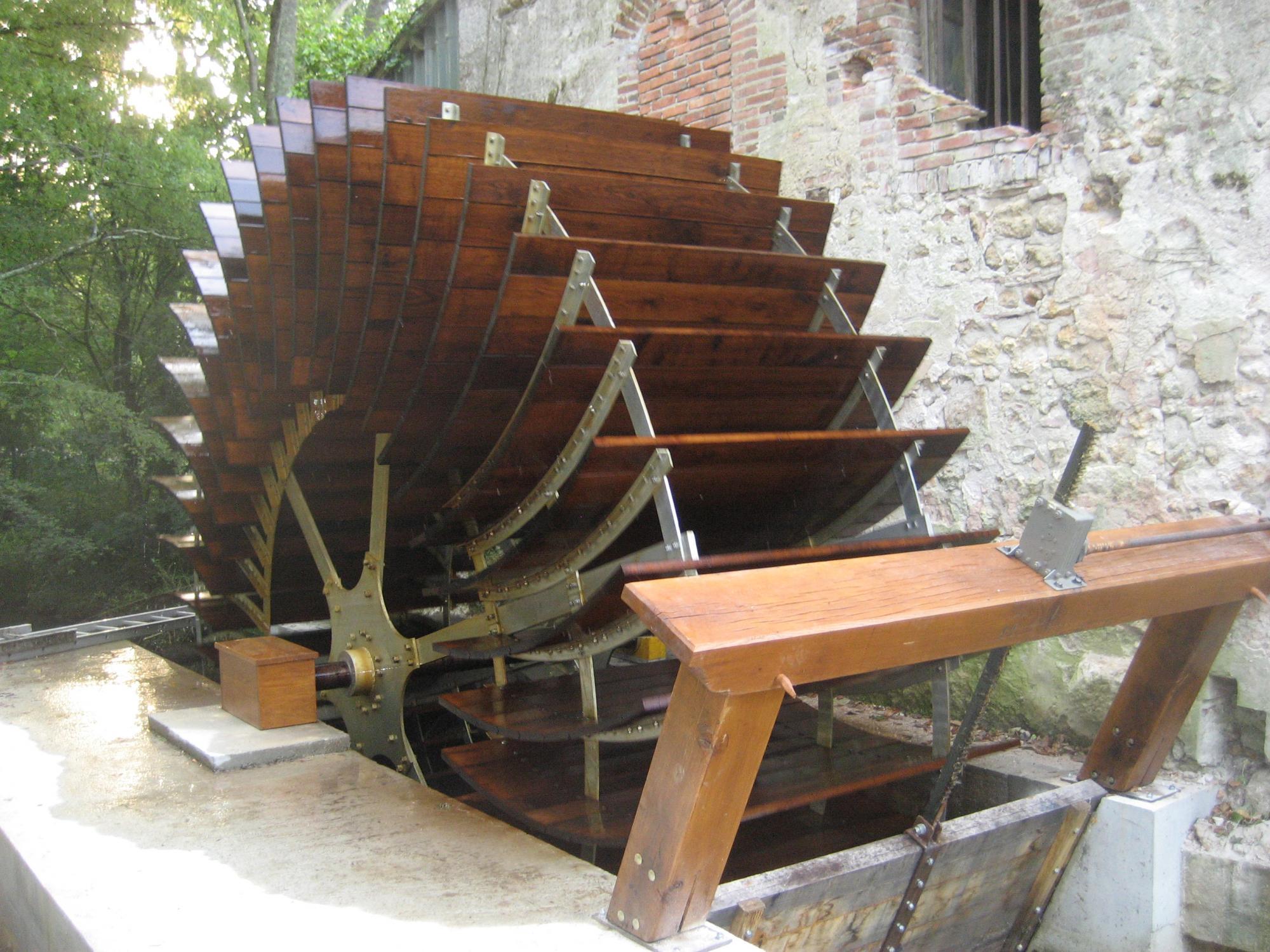 Restauration de moulins eau entreprise croix - Fabriquer une horloge a eau ...